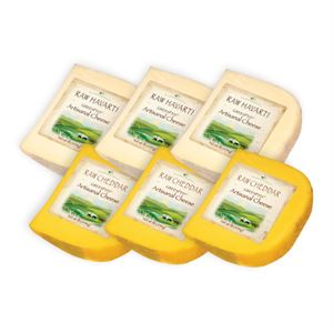 Picture of GreenFed Cheddar Reserve & Raw Jack (3 lbs of each)